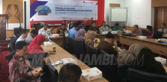 Focus Group Discussion bersama Bank Indonesia perwakilan Provinsi Jambi